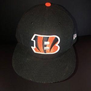 New Era nfl Cincinnati Bengals fitted hat 7 3/8